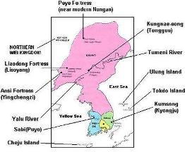 Goguryeo la extinderea maxima, sub Kwanggaeto