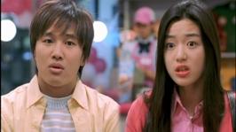 Cha Tae-hyun si Gianna Jun in 2001 My Sassy Girl