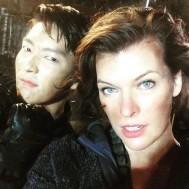 Lee Jun Ki si Milla Jovovich
